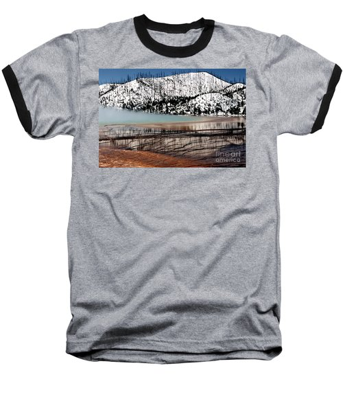 Baseball T-Shirt featuring the photograph Nature's Mosaic I by Sharon Elliott