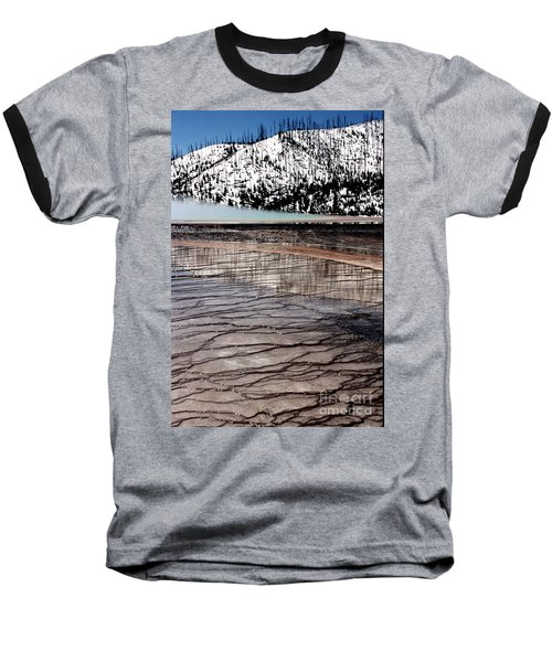 Baseball T-Shirt featuring the photograph Nature's Mosaic II by Sharon Elliott