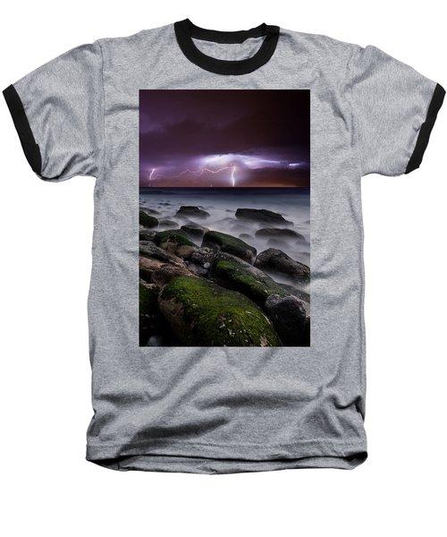 Nature's Splendor Baseball T-Shirt by Jorge Maia