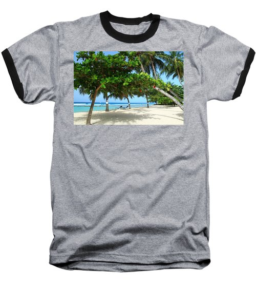Natures Umbrella Tree Baseball T-Shirt