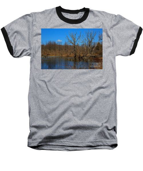 Nature's Wasteland Baseball T-Shirt