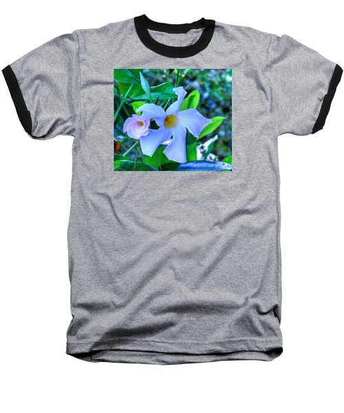 Flower 14 Baseball T-Shirt