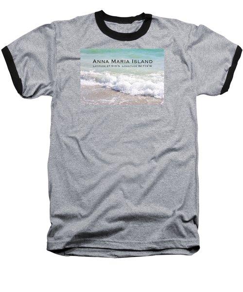 Nautical Escape To Anna Maria Island Baseball T-Shirt