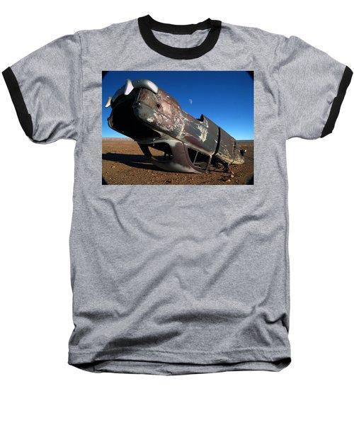 Navajo Reservation 10 Baseball T-Shirt by Jeff Brunton