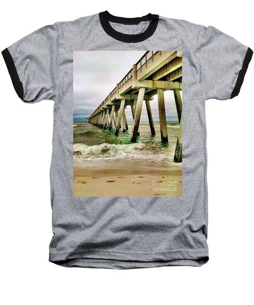 Navarre Pier Baseball T-Shirt