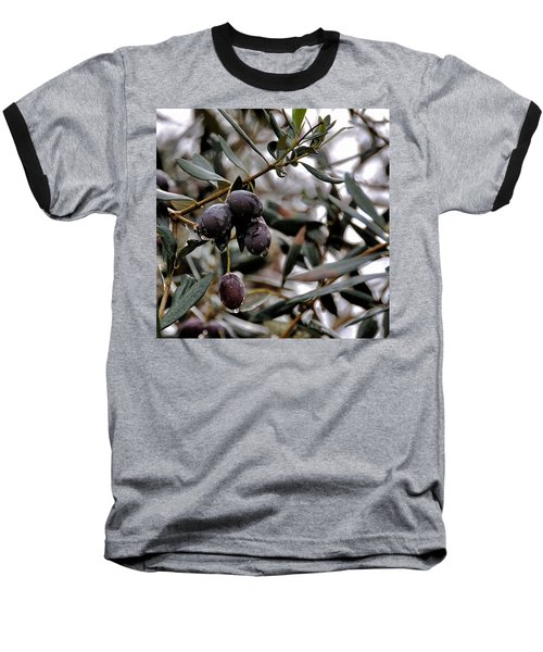 Nazareth Olives Israel Baseball T-Shirt