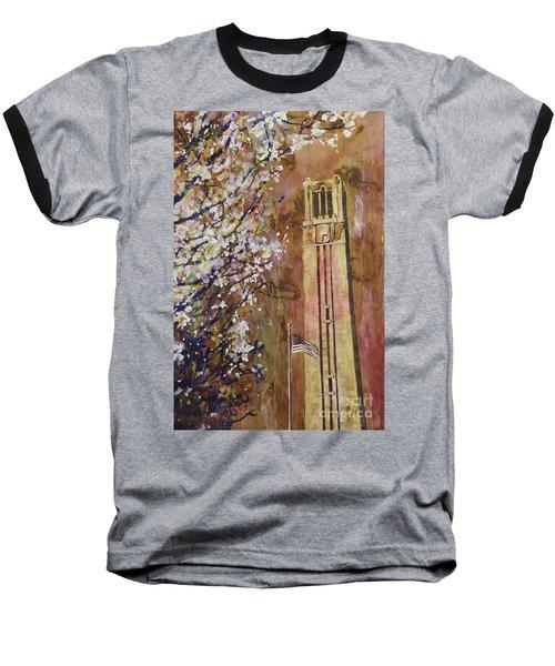 Ncsu Bell Tower Baseball T-Shirt