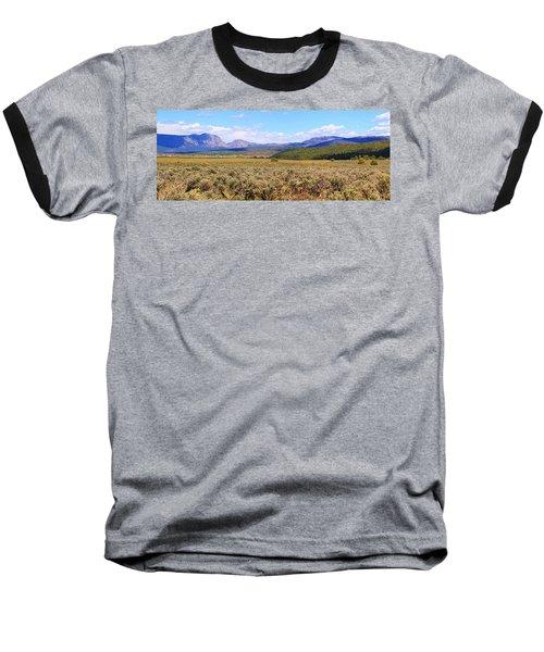 Near Chama New Mexico Baseball T-Shirt