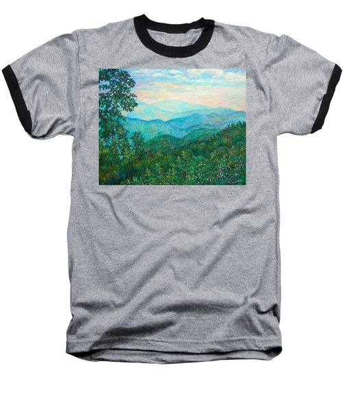 Near Purgatory Baseball T-Shirt by Kendall Kessler