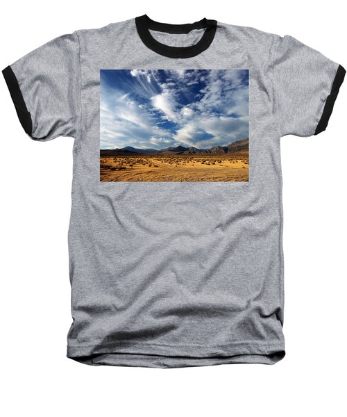 Near The Intersection Of God And The Eastern Sierras Baseball T-Shirt