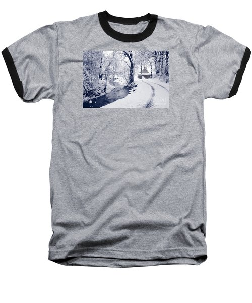 Baseball T-Shirt featuring the photograph Nearly Home by Liz Leyden