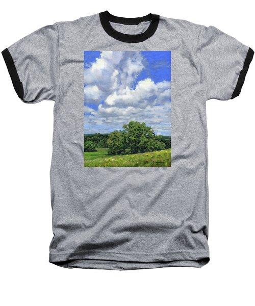 Nearly September Baseball T-Shirt by Bruce Morrison