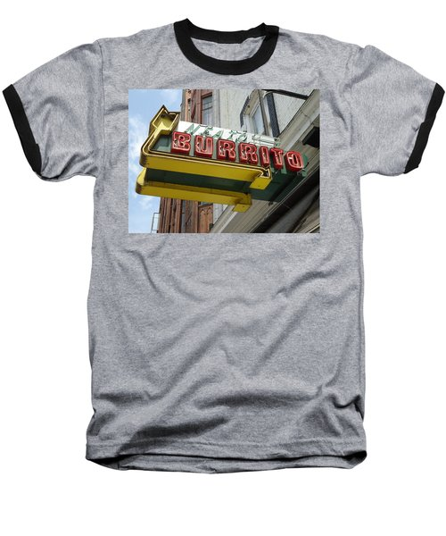 Neato Burrito Baseball T-Shirt