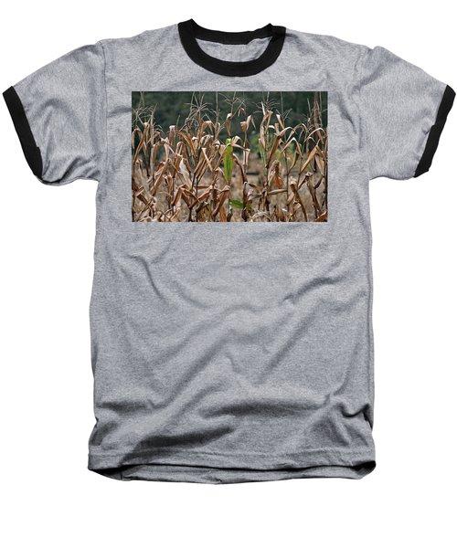 Neball Corn Field Baseball T-Shirt