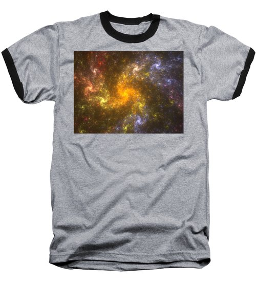 Baseball T-Shirt featuring the digital art Nebula by Svetlana Nikolova