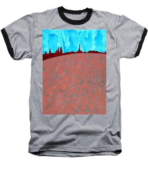 Needles And Dunes Original Painting Baseball T-Shirt