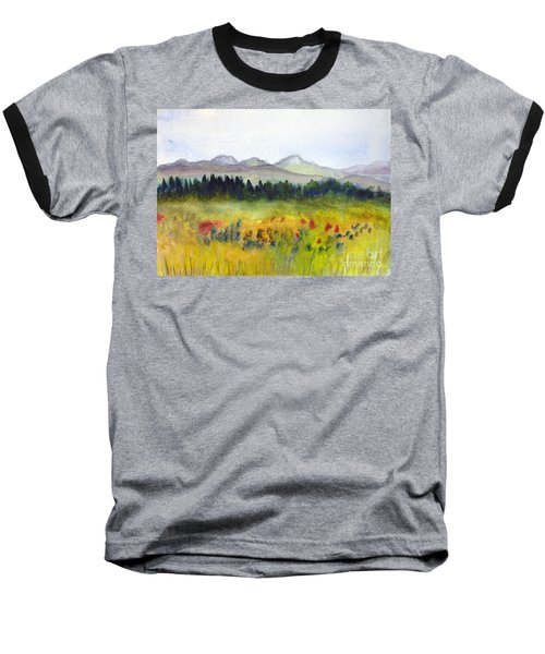 Nek Mountains And Meadows Baseball T-Shirt