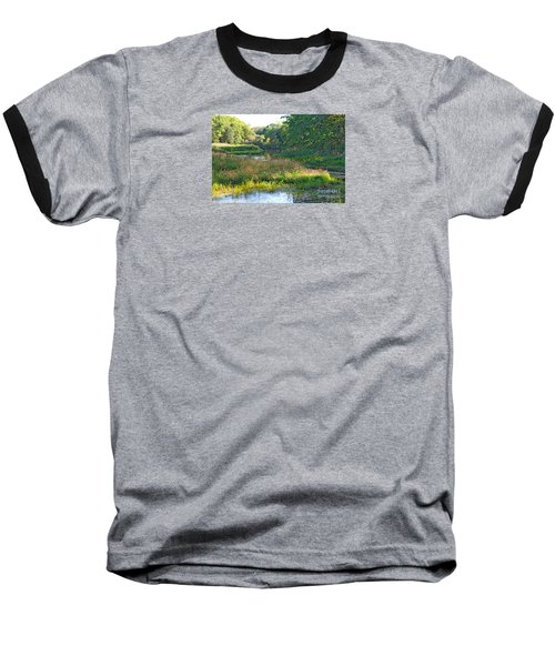 Nemasket River  Baseball T-Shirt