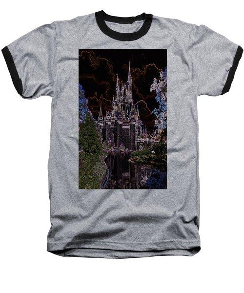 Neon Castle Baseball T-Shirt