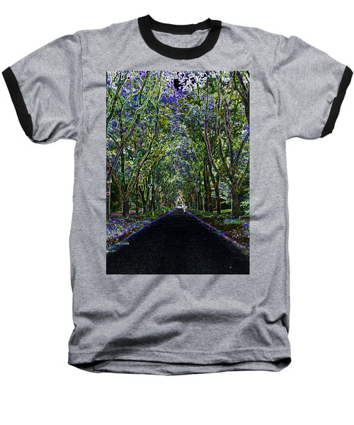 Neon Forest Baseball T-Shirt