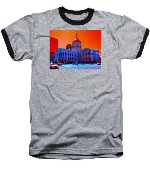 Neon Sky Baseball T-Shirt