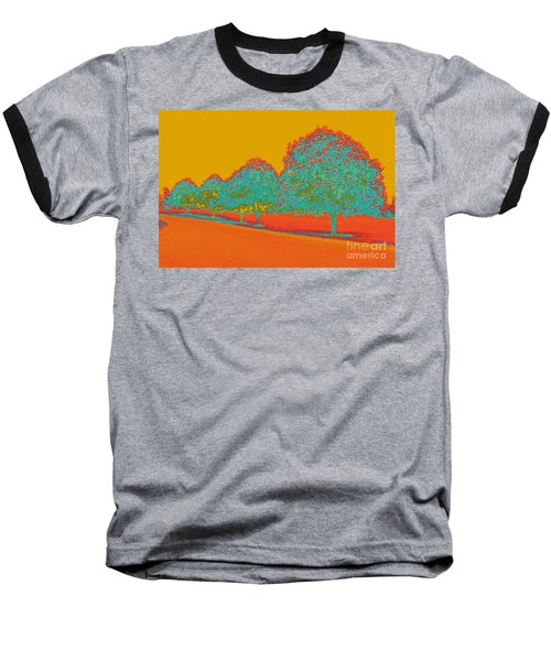 Neon Trees In The Fall Baseball T-Shirt