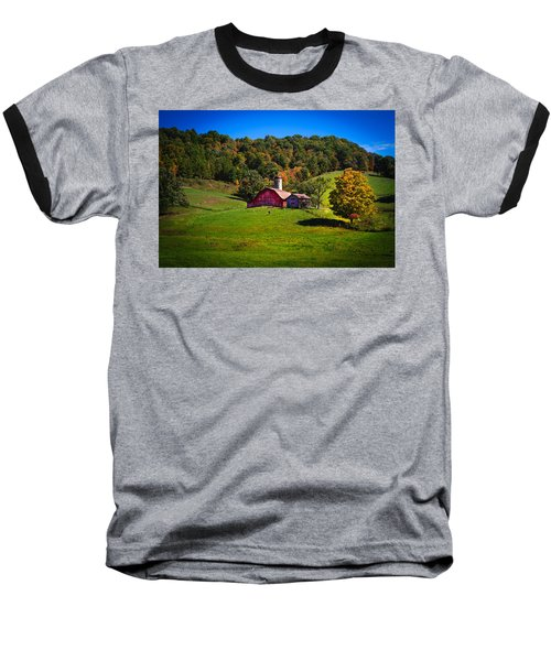 nestled in the hills of West Virginia Baseball T-Shirt