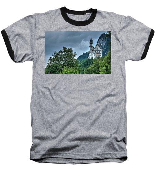 Baseball T-Shirt featuring the photograph Neuschwanstein Castle by Joe  Ng