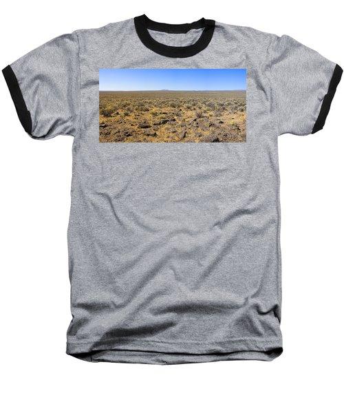 Baseball T-Shirt featuring the photograph Nevada Desert Panorama by Mark Greenberg