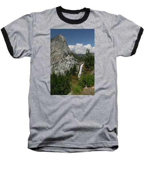 Nevada Falls Yosemite National Park Baseball T-Shirt