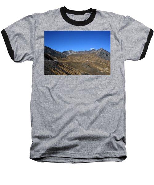 Nevado De Toluca Mexico Baseball T-Shirt