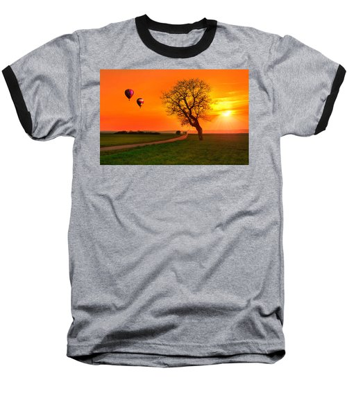 Never Ending Road Baseball T-Shirt