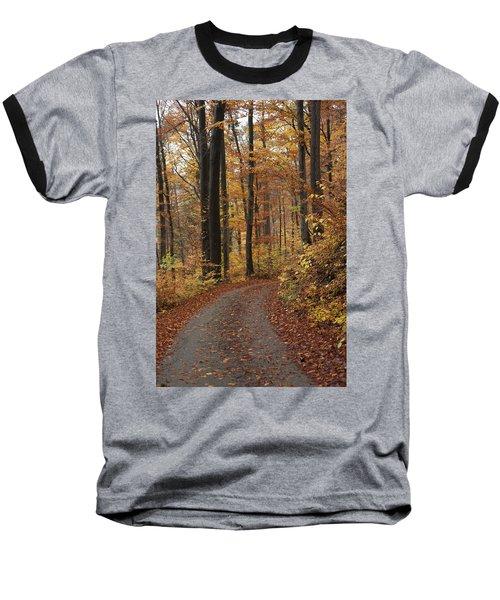 New Autumn Trails Baseball T-Shirt