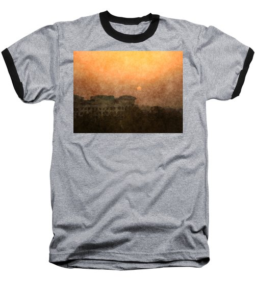 New Delhi Sunset Baseball T-Shirt