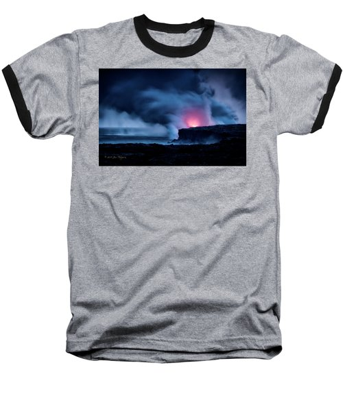 Baseball T-Shirt featuring the photograph New Earth by Jim Thompson