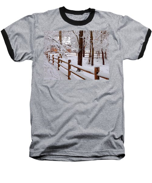 New England Winter Baseball T-Shirt
