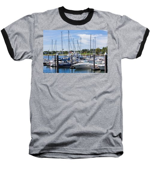 New Hampshire Marina Baseball T-Shirt
