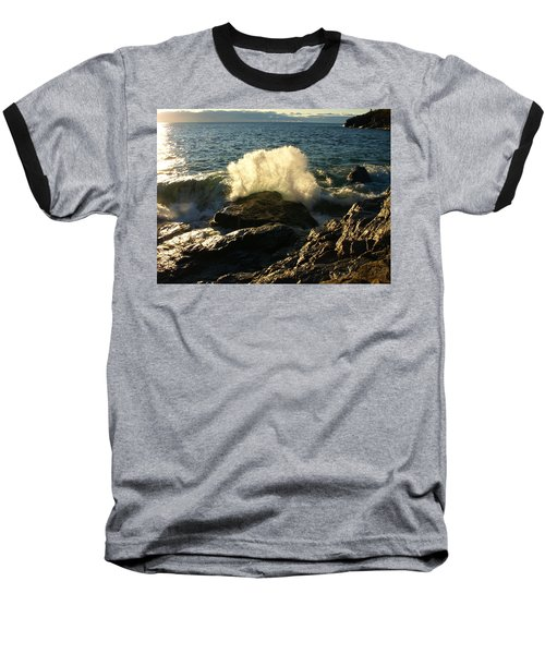 Baseball T-Shirt featuring the photograph New Heights by James Peterson