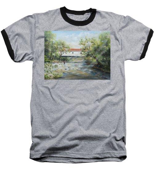 New Jersey's Last Covered Bridge Baseball T-Shirt