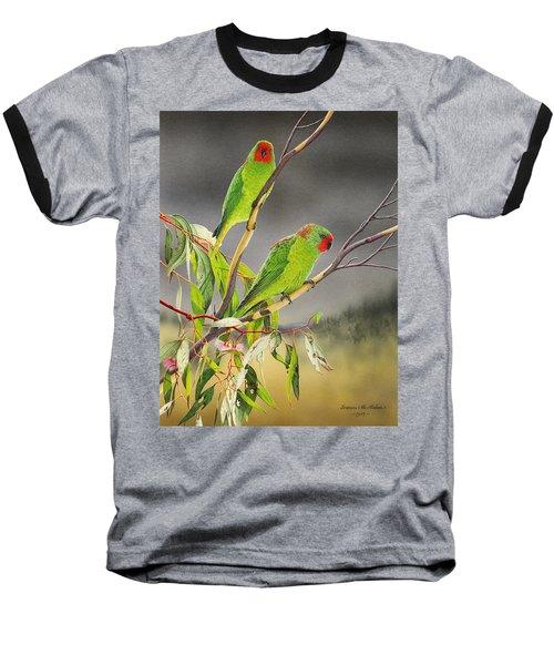 New Life - Little Lorikeets Baseball T-Shirt