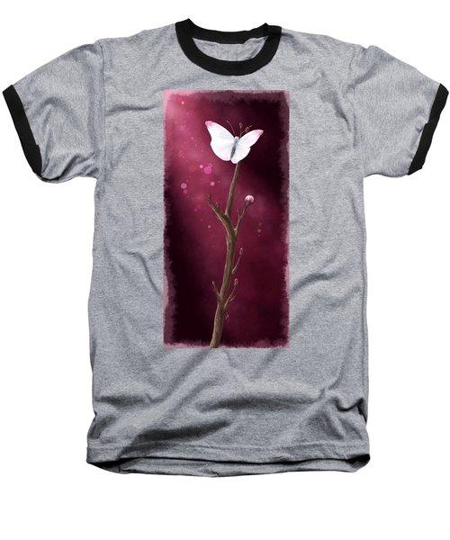 New Life Baseball T-Shirt by Veronica Minozzi