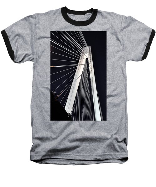 New Mississippi River Bridge Baseball T-Shirt