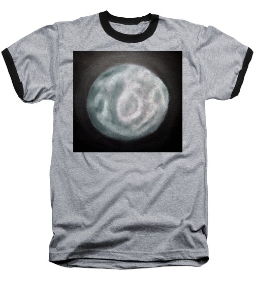 Baseball T-Shirt featuring the painting New Moon by Joel Loftus