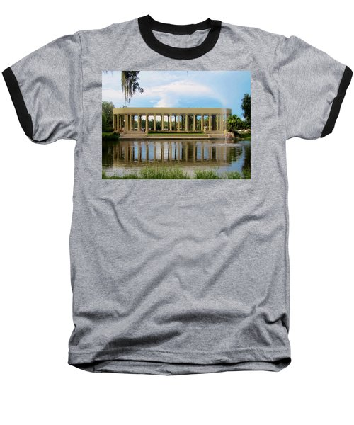 New Orleans City Park - Peristyle Baseball T-Shirt