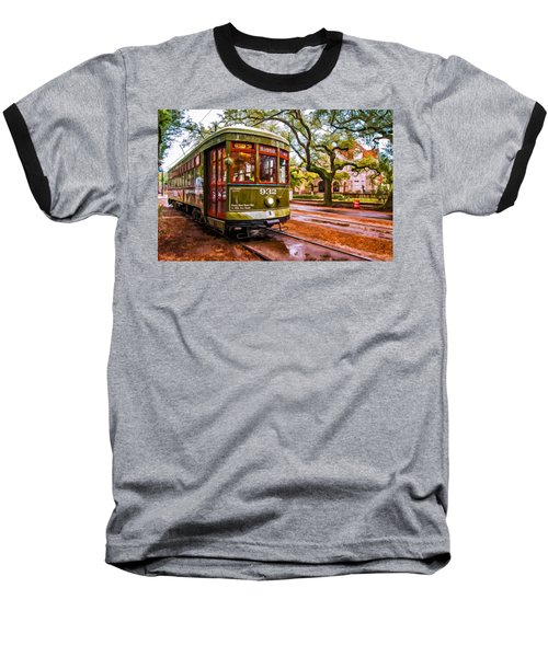 New Orleans Classique Oil Baseball T-Shirt