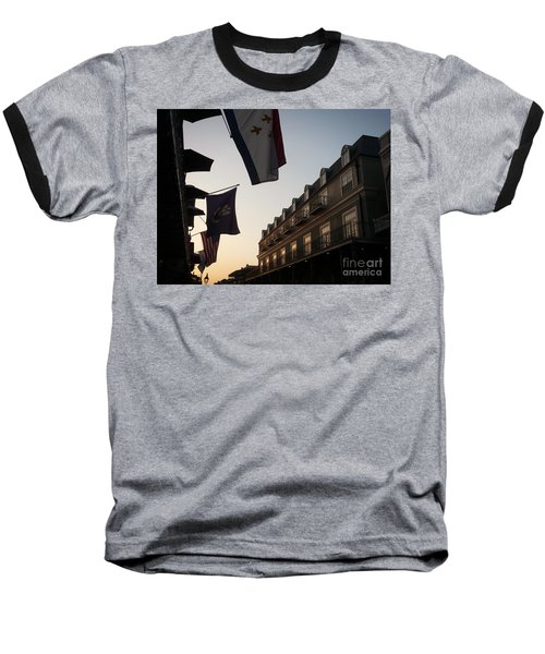 Evening In New Orleans Baseball T-Shirt by Valerie Reeves