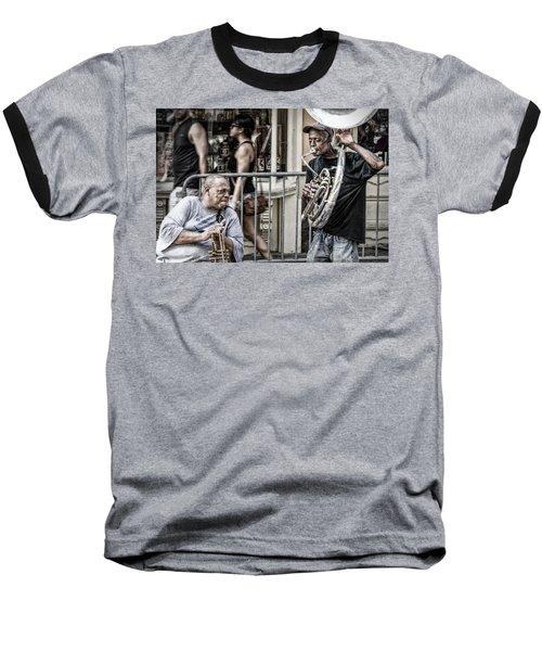 New Orleans Street Jam Baseball T-Shirt