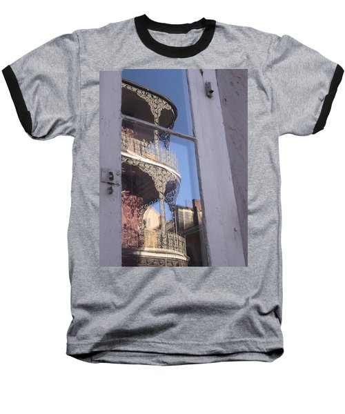 New Orleans Window Baseball T-Shirt