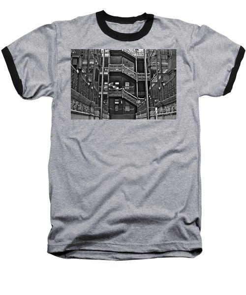 New Photographic Art Print For Sale Bradbury Building Downtown La Baseball T-Shirt