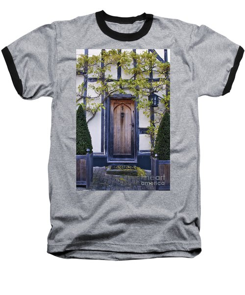 New Photographic Art Print For Sale Doorway 2 In Medieval Lavenham Baseball T-Shirt